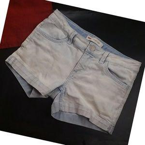 Levi's Shorty Short Light Wash Shorts